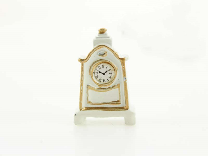 Wholesale 1:12 Dollhouse Miniature Mini Pendulum Clock Doll Accessories Toy Match For Forest Animal Family Collectible Gift 2018