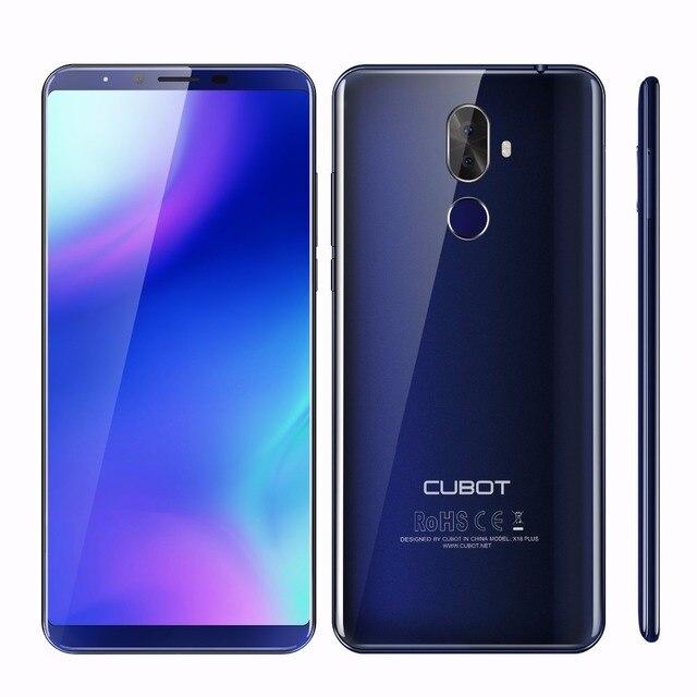 """Cubot X18 плюс 5,99 """"Android 8,0 mt6750t восемь ядер 4G B Оперативная память 6 4G B Встроенная память смартфон Dual Камера 4000 мАч 4G отпечатков пальцев мобильный телефон"""
