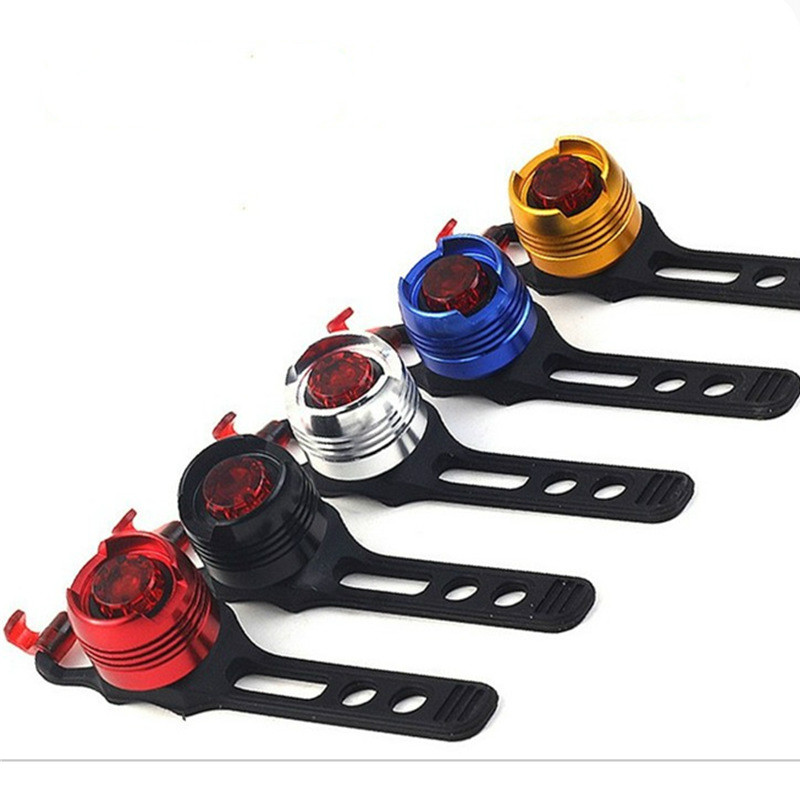 Bicycle Rear Light Carat Type Bike Warning Lamp USB Charge  Color Safety Headlight Tail  Bike Light  Usb Bicycle Light