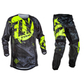 Fly Fish Pants & Jersey Combos Motocross MX Racing Suit Motorcycle Moto Dirt Bike MX ATV Gear Set
