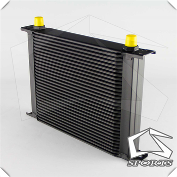 30  Row Aluminum 8-AN8 Oil Cooler for Universal Car Radiating/Cooling System