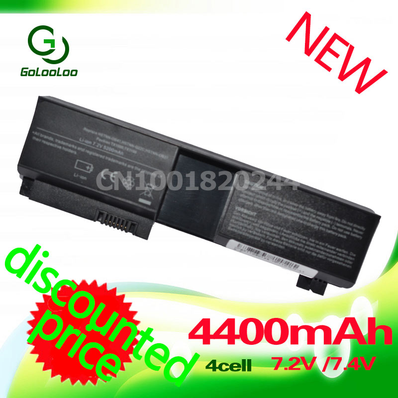 Golooloo 4400MaH Laptop battery for HP Pavilion tx1000 tx1100 tx2000 <font><b>tx1200</b></font> tx1300 tx2100 tx2500 tx2600 image