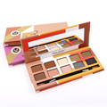 MISS ROSE 2017 New Fashion Fresh Book 10 Colors 12g Shiny Durable And Easy On The Makeup Eye Shadow Palette 7001-058NT