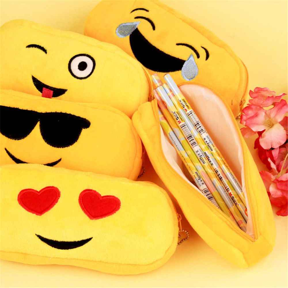 1 adet karpuz kalem çantası peluş hayvanlar dolması fil oyuncak çocuklar uyku geri yastık sevimli fil bebek eşlik hediye