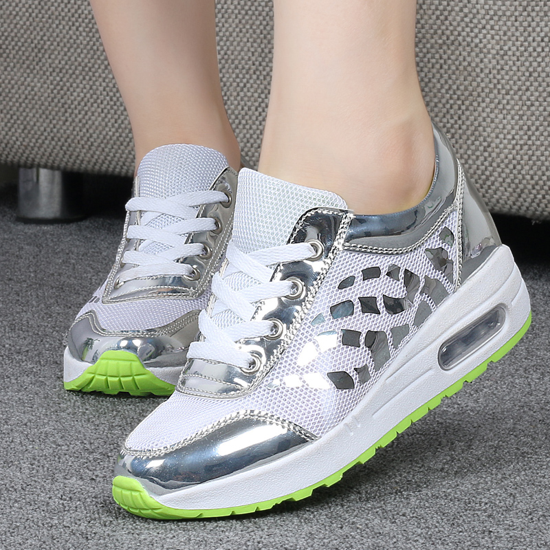Trainers Women Casual Shoes Summer Style Outdoor Breathable Low Top Shoes Woman Flat Heels Sport Ladies Shoes Size 35-40 ZD71 (7)