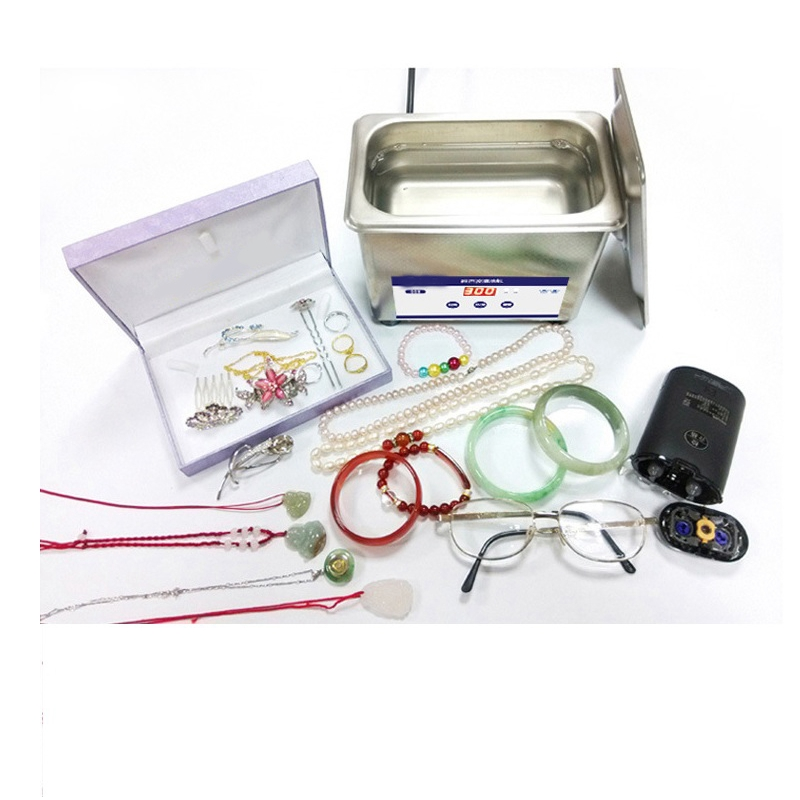 HIMOSKWA 800ML Ultrasonic Cleaner Bath Digital Ultrasound Wave Cleaning Tank Jewelry Watches Glasses CD Cleaners Sterilizer household digital ultrasonic cleaner washer bath jewelry watch optical glasses teeth razor necklace ultrasound time adjust tank