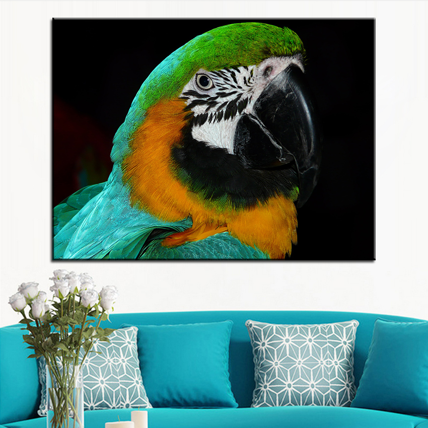 Pop Art Birds Canvas Painting Promotion-Shop for Promotional Pop ...