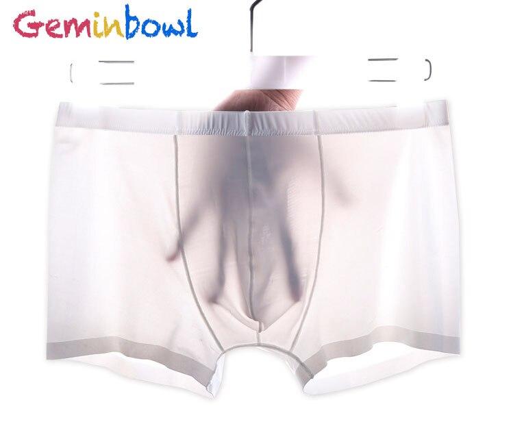 Geminbowl Ardennen gay slips heren zijdeachtig Ondergoed Sexy zachte - Sportkleding en accessoires