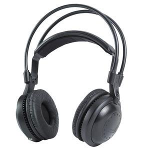 Image 1 - free shipping!!! 500m range wireless dj headphones earphones silent disco party club with best bass