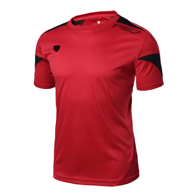 Summer Style New Soccer Jerseys T Shirt Men Camisa Masculina 2017 New Brand Sales Camisas Quick Dry Slim sports jersey