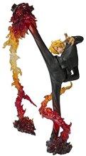 Japan Anime  Bandai Tamashii One Piece Sanji Diable Jambe Flambage Shot  6.7″ Action Figure Toys Loose