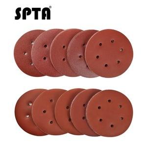 Image 1 - Набор шлифовальных дисков SPTA, 6 дюймов, Зернистость 40 # 100 #, 2000 шт.