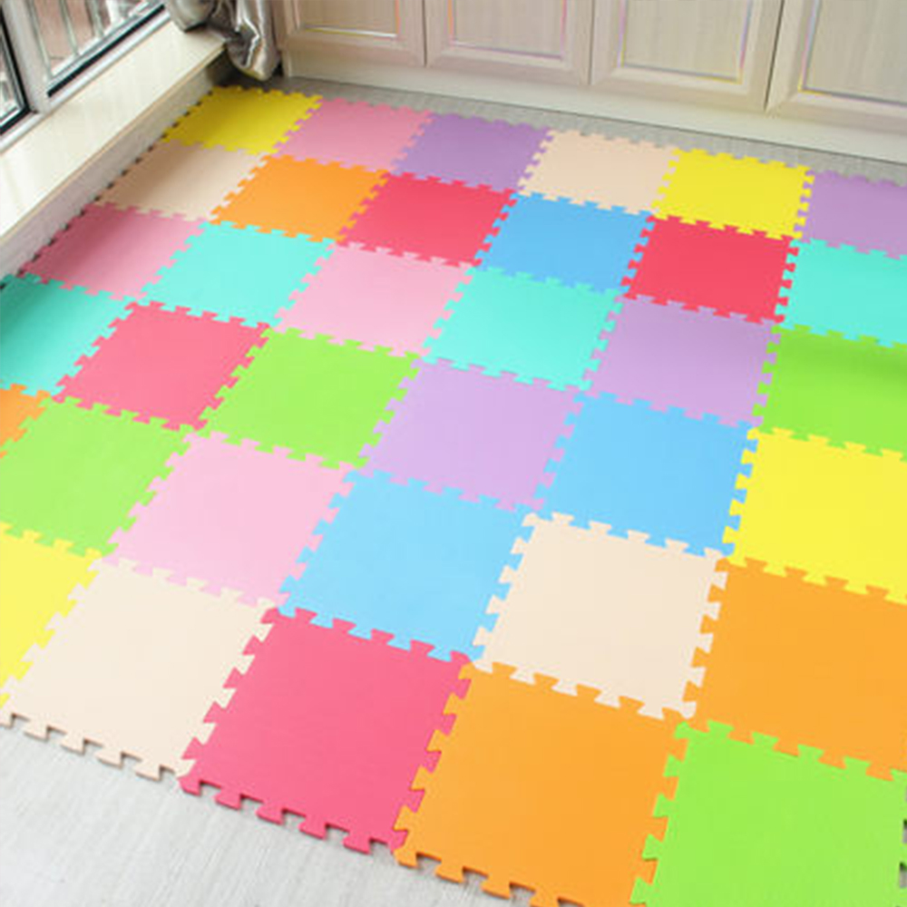10 Pcs Baby Play Mat Eva Foam Puzzle Children Puzzles Interlocking Exercise Floor Playmat  Infant Carpet Baby Activity Speelmat