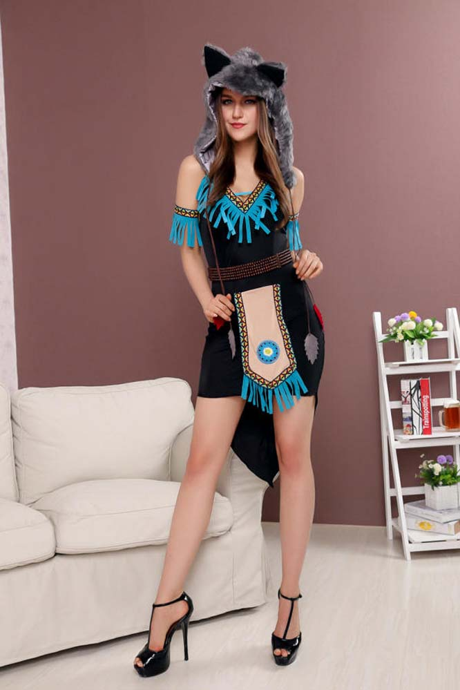 Popular Wolf Sexy Costume-Buy Cheap Wolf Sexy Costume Lots -8661