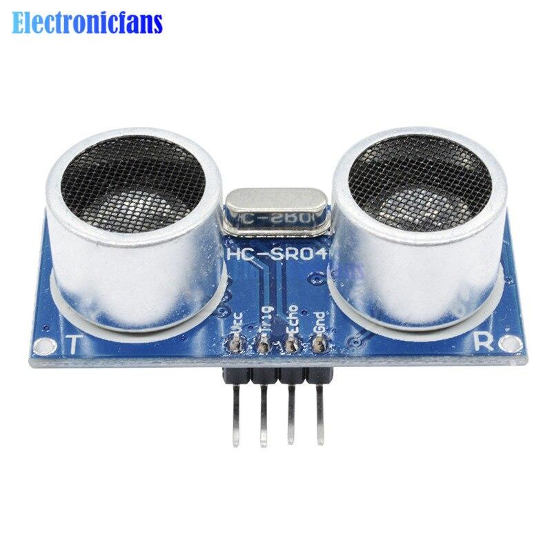 Beautiful High Precision! Ultrasonic Module Hc-sr04 Hc Sr04 Hcsr04 Distance Measuring Transducer Io Trigger Sensor For Arduino 5v Dc