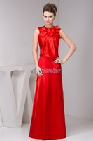 robes de demoiselle d'honneur floor length cap sleeve pleatred one shoulder long modest maternity dresses Bridesmaid Dresses
