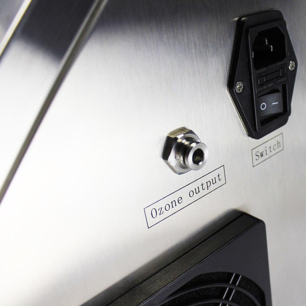 Pinuslongaeva CE EMC LVD FCC Factory outlet Portable air purification and water sterilization machine 201 304 ozone machine ce emc lvd fcc ozone bath spa