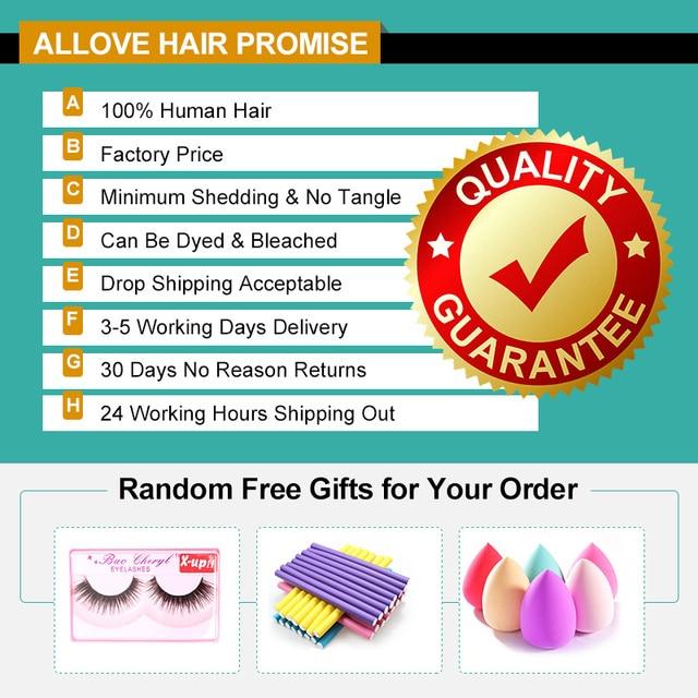 Allove Body Wave Bundles Malaysian Hair Bundles 100% Human Hair Bundles 1 3 4 Bundles Deals Malaysian Body Wave Hair Non Remy 2