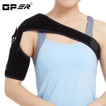 OPER Adjustable Right Left Single Shoulder belt Support Brace Magnetic Therapy Posture Injury Arthritis Pain Bandage