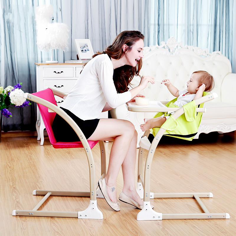 Multifunctional Large Baby Dining Chair Adjustable Baby Feeding Chair Lying Seat Stable Baby High Chair Vary Adults Chairs C01