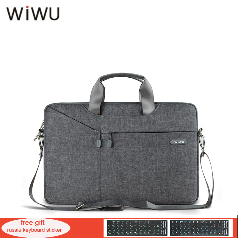 WIWU Newest Laptop Messenger Bag 11 12 13.3 14 15.4 15.6 Waterproof Nylon Notebook Bag for Dell 14 Laptop Bag for Macbook 13 Air gearmax laptop backpacks 14 15 15 6 inch free keyboard cover for macbook 13 15 genuine leather and nylon notebook bag for dell