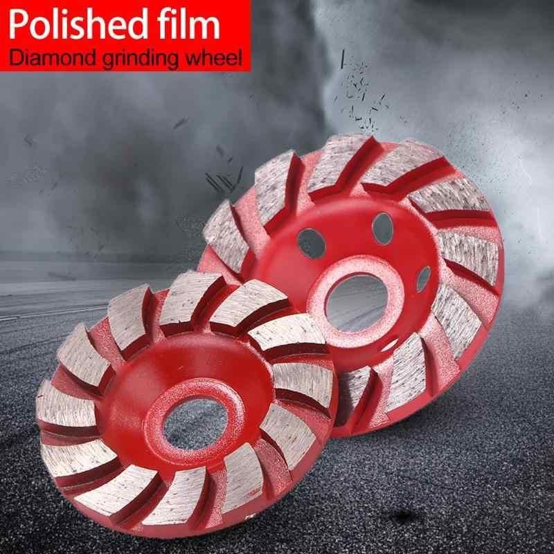 100mm Diamond Grinding Wheel Disc Bowl Bentuk Grinding Cup Beton Batu Granit Keramik Grinding Disc Alat Abrasive