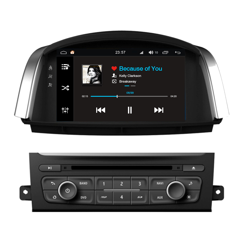RoverOne Android 8.0 Car Multimedia System For Renault Koleos Radio Stereo DVD GPS Navigation Media Music Player PhoneLinkRoverOne Android 8.0 Car Multimedia System For Renault Koleos Radio Stereo DVD GPS Navigation Media Music Player PhoneLink