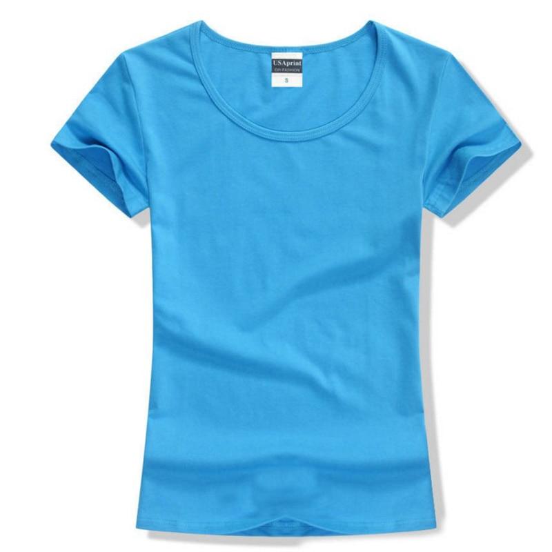 Free shipping brand new fashion women t shirt brand tee for Top t shirt brands