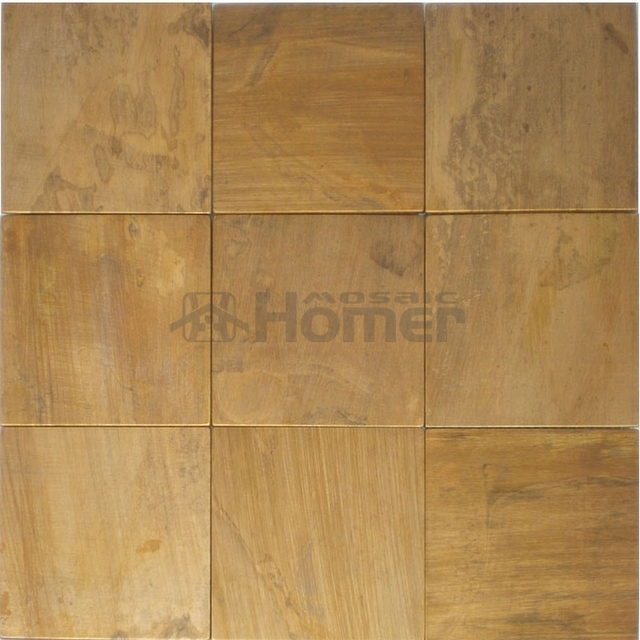 free shipping big size bronze mosaic tiles metal brass tiles for bedroom living room backsplash - Big Tiles For Living Room