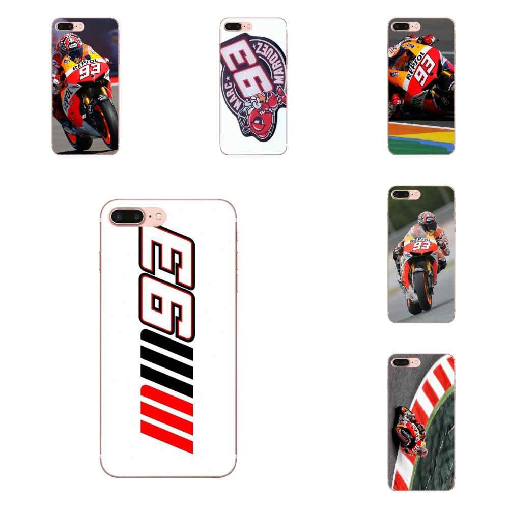 2019 Марка Marc marquez Moto Gp 93 для samsung Galaxy Note 5, 8, 9, S3 S4 S5 S6 S7 S8 S9 S10 mini Edge рlus Lite мягкие чехлы Capa