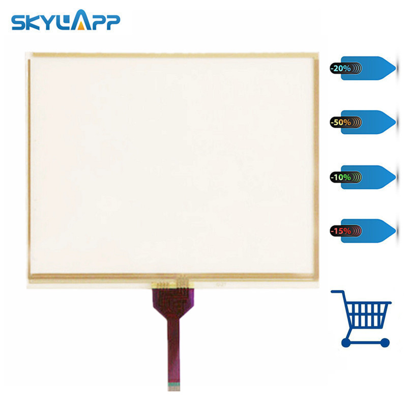 Skylarpu 10.4 inch Industrial control equipment 8 wires touch screen for JAT710 digitizer panel glass Free shipping original 10 4 inch touch screen for ktp1000 6av6647 0ae11 3ax0 industrial equipment touch panel digitizer glass