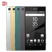 Разблокированный смартфон Sony Z5, восемь ядер, экран 5,5 дюйма, Android 4G, 3430 мАч