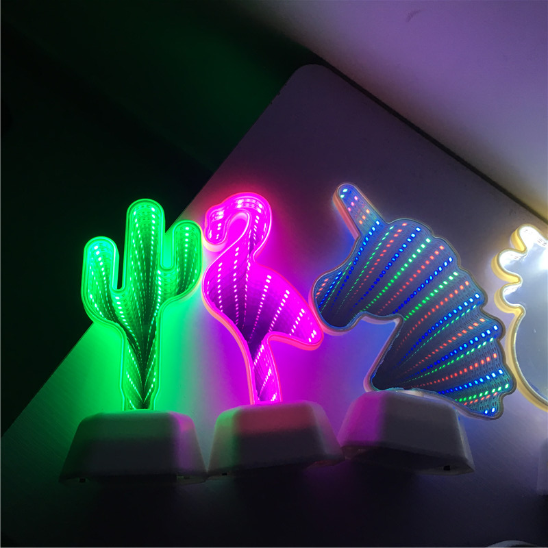 mirror tunnle lamp55
