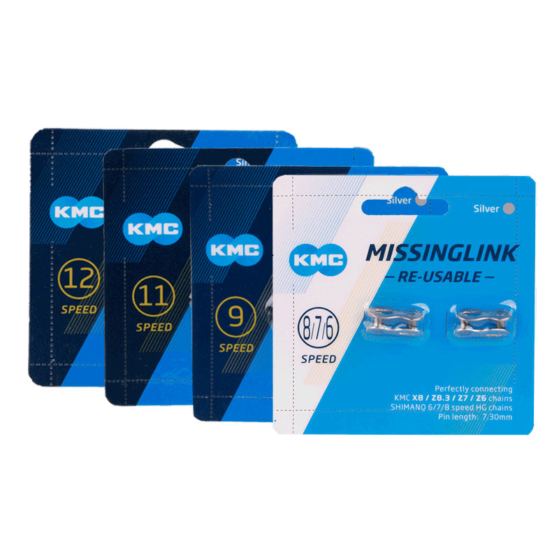 KMC Fahrrad Kette MissingLink 2 Pairs Master Link Stecker für 8 9 10 11 12 Geschwindigkeit mainframe Antrieb Systeme Kette