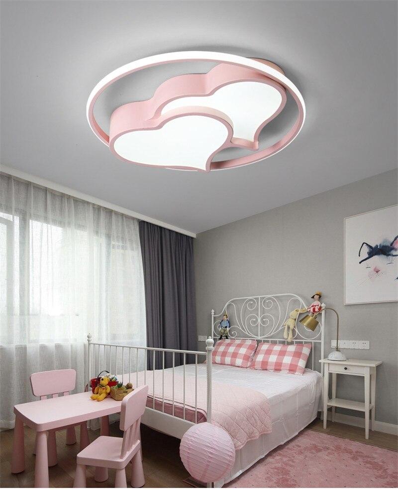 pink heart ceiling lighting (19)