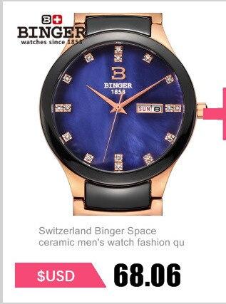 ff8f1585e08 ᗗSuisse marque de luxe Montres Binger Espace céramique amateurs de ...