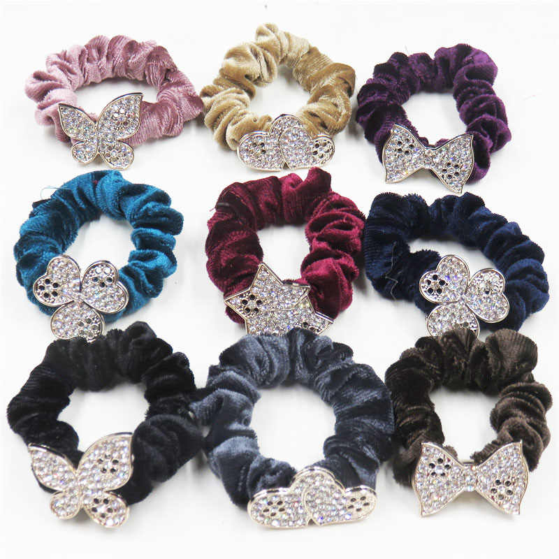 1PCS Flannel Hair Accessories For Women Headband,Elastic Bands For Hair For Girls,Hair Band Hair Ornaments For Kids  2018