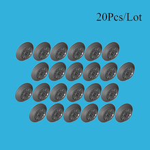 20Pcs/Lot Train Wheels with Axle Hole Parts For Train track Building Blocks Boy DIY Education Toys Compatible with Train Parts цены