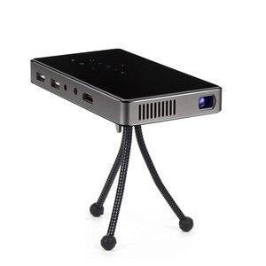 Image 2 - WZATCO CT50 Android 7.1 OS WIFI Bluetooth Pico Mini Micro lAsEr DLP projecteur Portable Proyector avec batterie pour Home cinéma