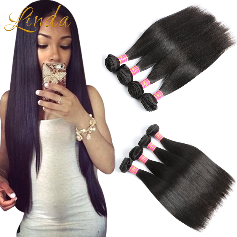Ula Hair Malaysian Virgin Hair Straight 4 Bundles Xuchang Good Cheap