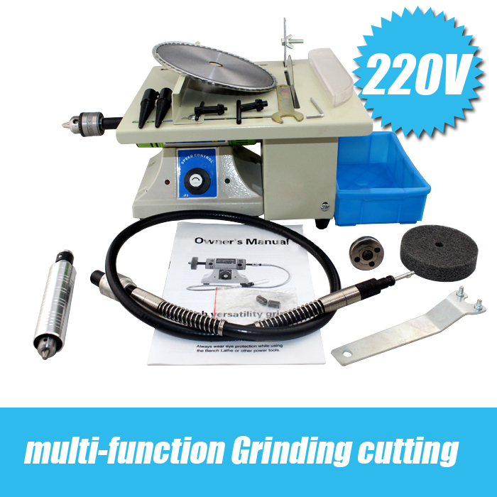 все цены на The third generation of multi-functional jade mini table saw,multi-purpose jade carving machine , grinding polishing machine gol
