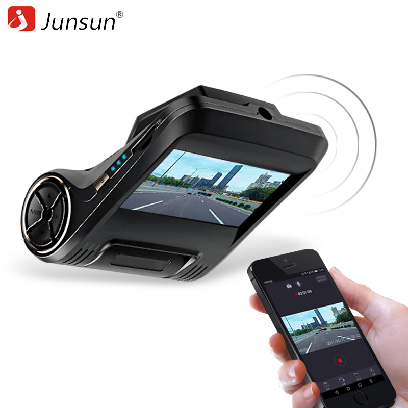Junsun S550 WiFi Car DVR Camera 96658 IMX 323 FHD 1080P Dash Cam Digital Video Recorder Night Version Camcorder DVRs Registrator junsun wifi car dvr camera video recorder registrator novatek 96655 imx 322 full hd 1080p dash cam for volkswagen golf 7 2015 page 2