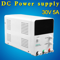 DC Power Supply Direct Current 30V 5A With 4 Digits 0.56 Blue LED Constant Voltage and Current Crossover Switching Power Supply
