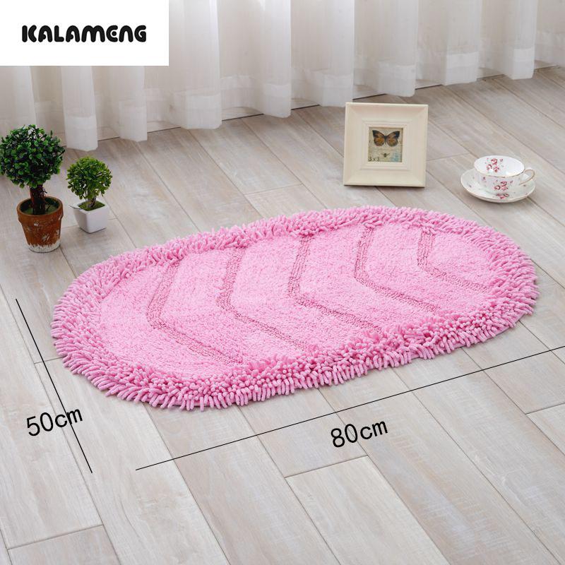 Moderne Ovale Baumwolle Chenille Bodenmatte Teppich Fr Wohnzimmer Kche Bereich Schlafzimmer Rutschfeste Maschine