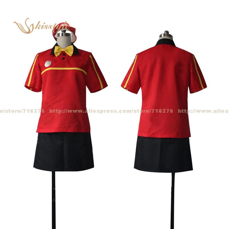Kisstyle Fashion Diablo je částečný časovač! Chiho Sasaki oblečení Cosplay Uniform COS kostým
