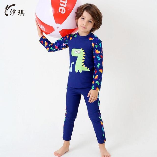 Aparte Kinderkleding.Xiqi Jongen Badmode Tweedelige Badpak Aparte Kinderkleding Badmode