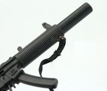 MP5 Submachine 1/6  Gun Model Plastic Weapon Toys Soldier Figure Accessories for 12