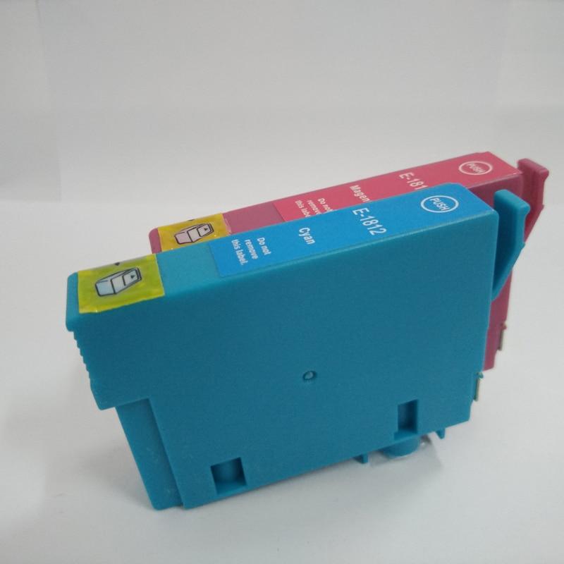 5Pcs T1811 - T1814 сия картриджі үшін EPSON XP212 - Кеңсе электроника - фото 5