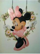 DIY 5D Diamond Painting Cross Stitch Disney Minnie picture full Square Diamond Embroidery Mickey mouse rhinestone Mosaic icons 5d diy diamond painting cross stitch kits full square diamond embroidery disney mickey minnie mouse rhinestone mosaic pattern
