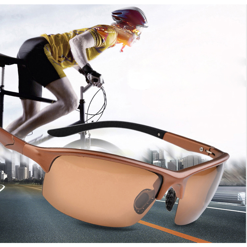 2016 Neue Polarisierte Sonnenbrille Für Männer Tr90 Sport Marke Männer Sonnenbrille Oculos Außen Sonnenbrille Anti-uv Kühle Kunststoff Rahmen AusgewäHltes Material